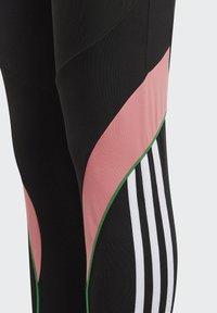 adidas Performance - BELIEVE THIS AEROREADY BOLD LEGGINGS - Collants - black - 4