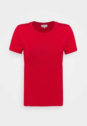 ICON SLIM - Print T-shirt - primary red