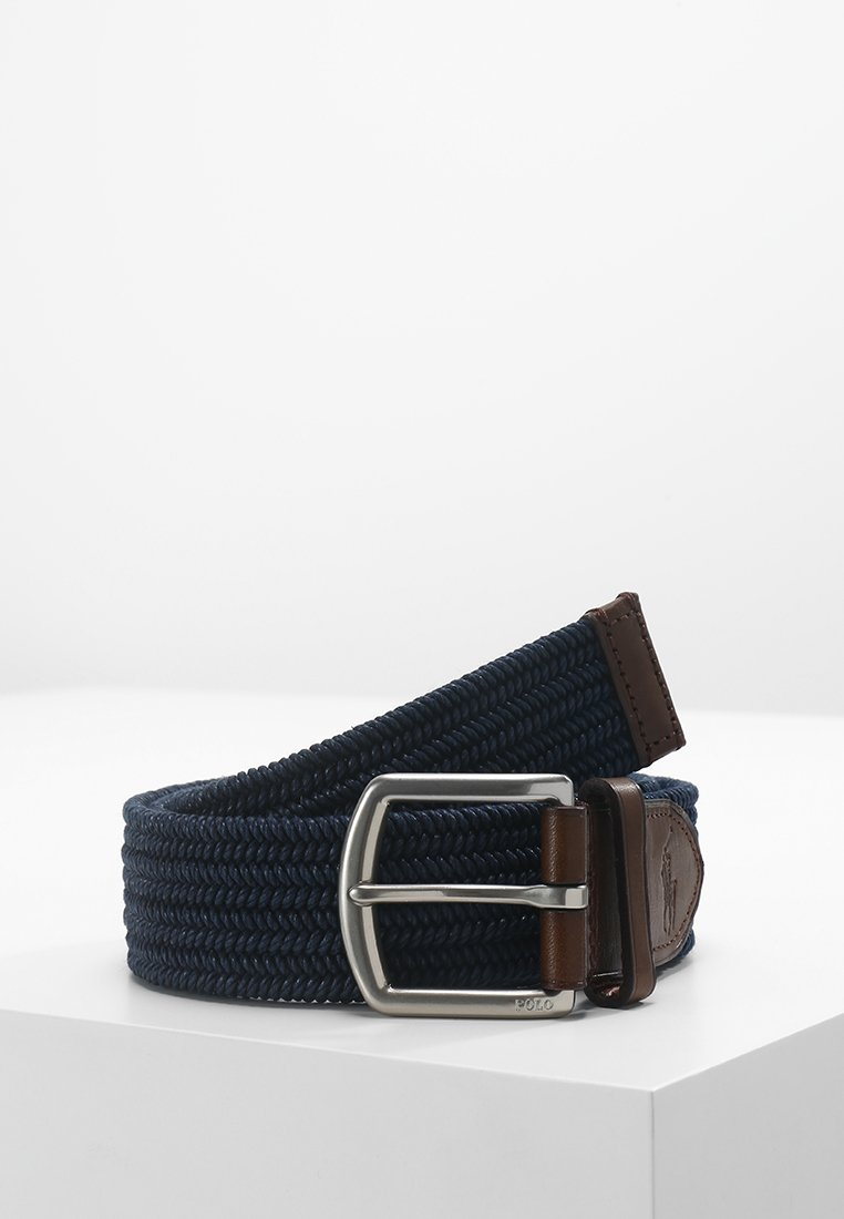 Polo Ralph Lauren - BRAIDED FABRIC STRETCH - Ceinture - navy