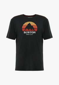Burton - UNDERHILL - Print T-shirt - true black - 3