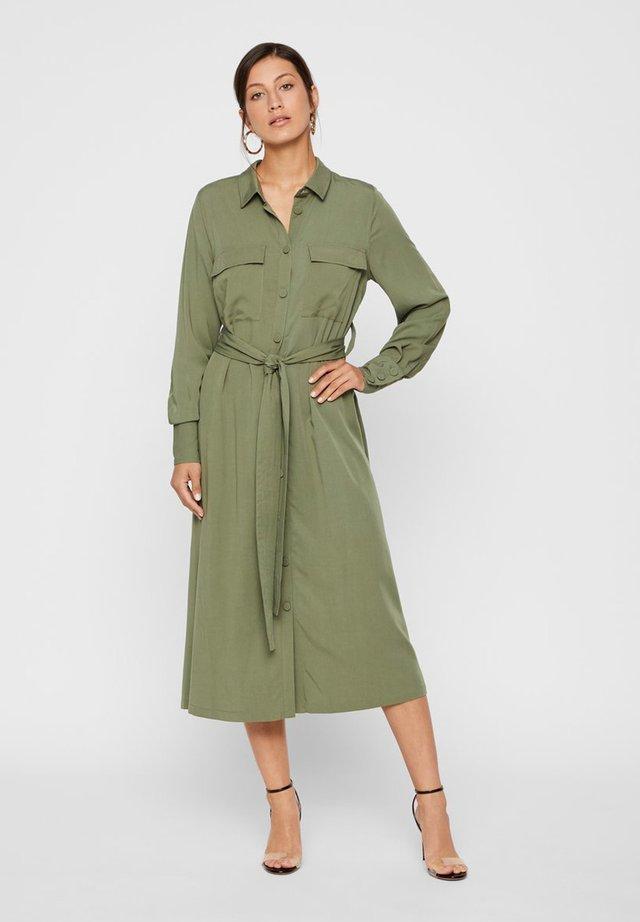 Vestido camisero - olive