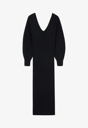 NIBIA - Shift dress - zwart