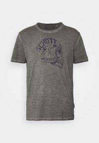 Schott - Print T-shirt - charcoal - 4