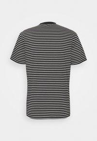 Element - BASIC STRIPES - Print T-shirt - flint black - 1