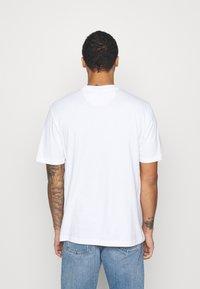 adidas Originals - TREFOIL TEE UNISEX - T-shirts print - white/blue - 2