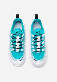 Nike Sportswear - AIR MAX AXIS - Sneaker low - oracle aqua/black/white - 3