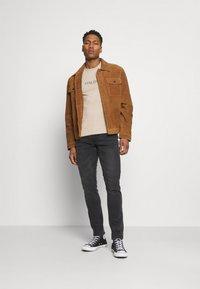 Solid - JOY  - Slim fit jeans - grey - 1