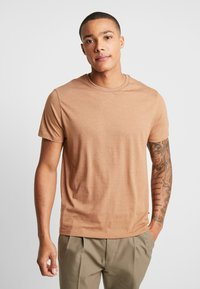 Burton Menswear London - BASIC CREW 5 PACK - Basic T-shirt - navy - 6