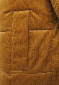 Jack & Jones - JORCORDUROY PUFFER - Winter jacket - rubber - 3