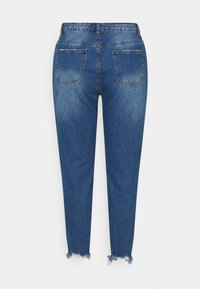 Missguided Plus - RIOT DISTRESSED  - Relaxed fit jeans - blue - 1
