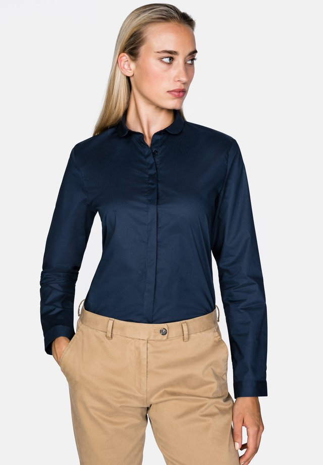 BL-BIBIE - Button-down blouse - navy