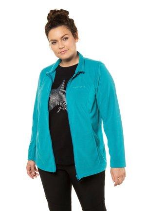 Fleece jacket - medium turquoise