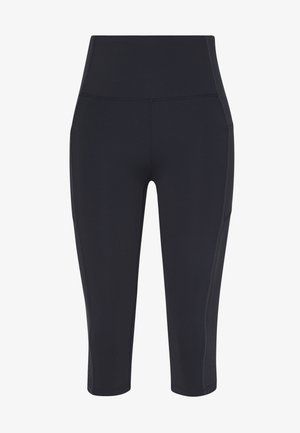 BINDED CAPRI - 3/4 sports trousers - navy