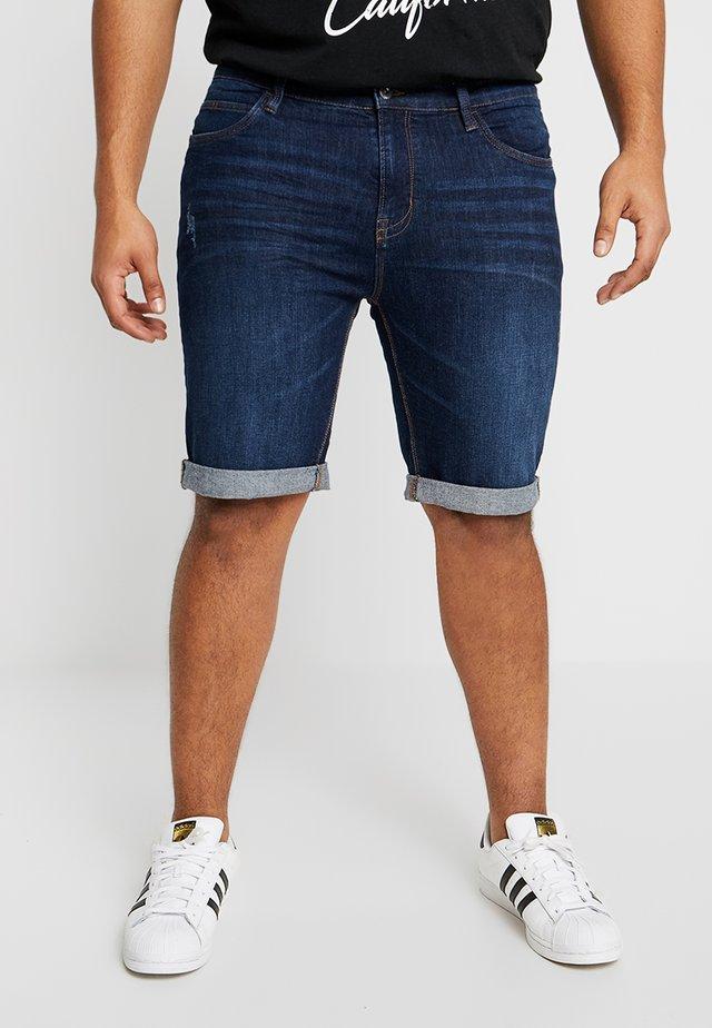 KADEN PLUS - Shorts di jeans - blue