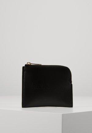 CORNER ZIP POUCH - Wallet - black