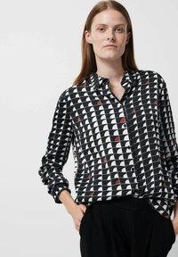 someday. - Zameru - Button-down blouse - bleu - 0