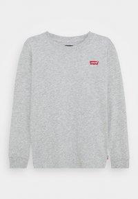 Levi's® - BATWING CHESTHIT TEE UNISEX - Maglietta a manica lunga - grey - 0