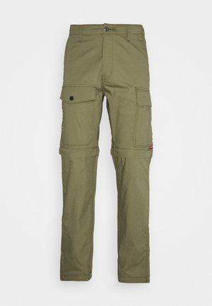 LO-BALL ZIP OFF CARGOS - Pantalon cargo - muddy forest