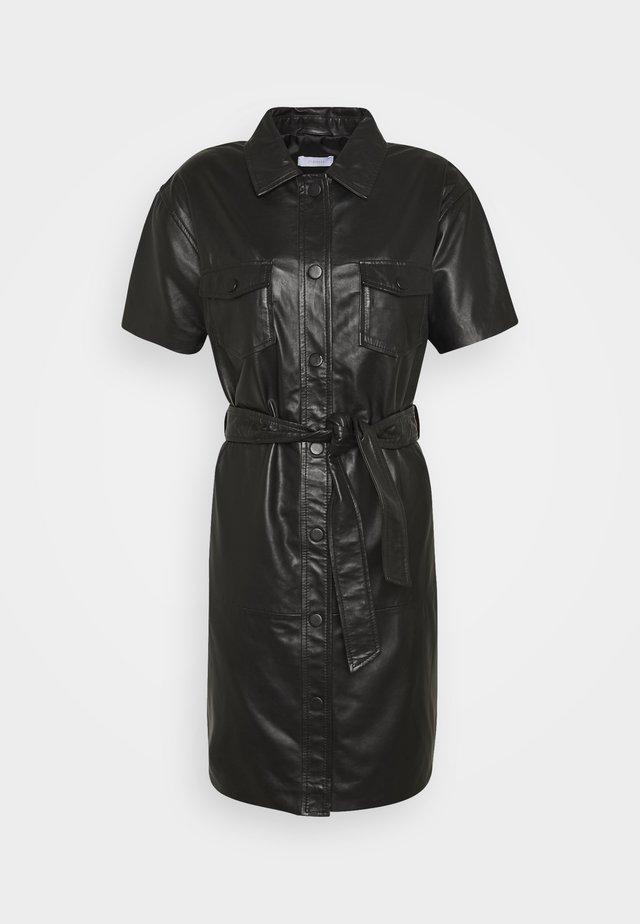 FRODEY - Korte jurk - black