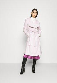 Ted Baker - ROSE - Classic coat - dusky pink - 1