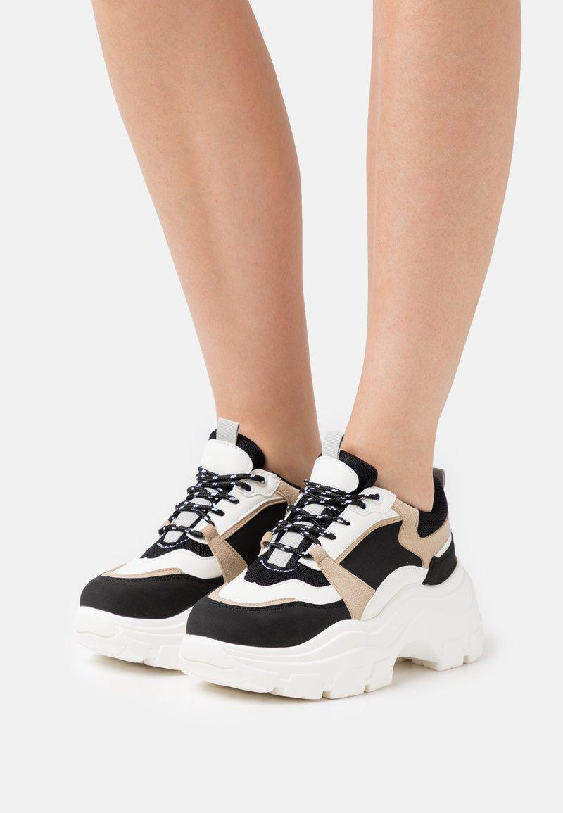 Glamorous - Sneakersy niskie - black/multicolor