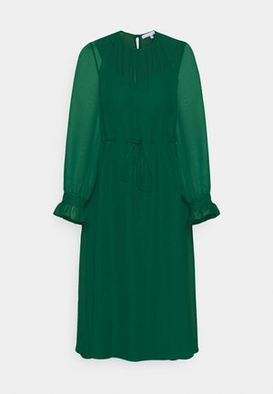 FIT AND FLARE MIDII DRESS - Denní šaty - emerald