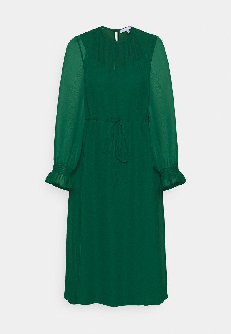 True Violet Petite - FIT AND FLARE MIDII DRESS - Denní šaty - emerald