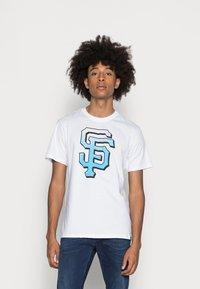 '47 - SAN FRANCISCO GIANTS BACKER ECHO - T-shirt print - white wash - 0