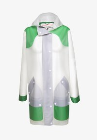 Hunter ORIGINAL - WOMENS ORIGINAL HERO HUNTING COAT - Parka - white/sea fern/limpit - 3
