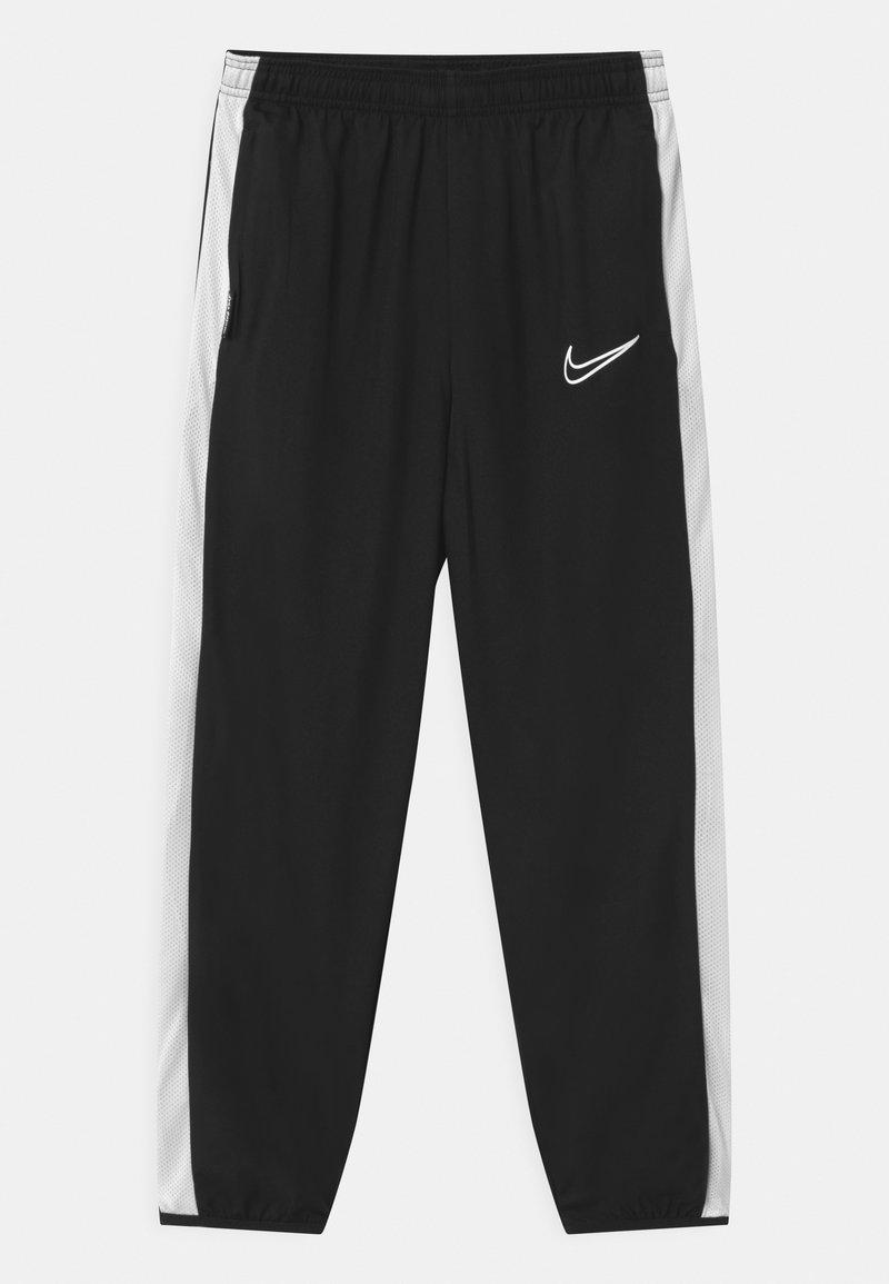 Nike Performance - DRY UNISEX - Tracksuit bottoms - black/white