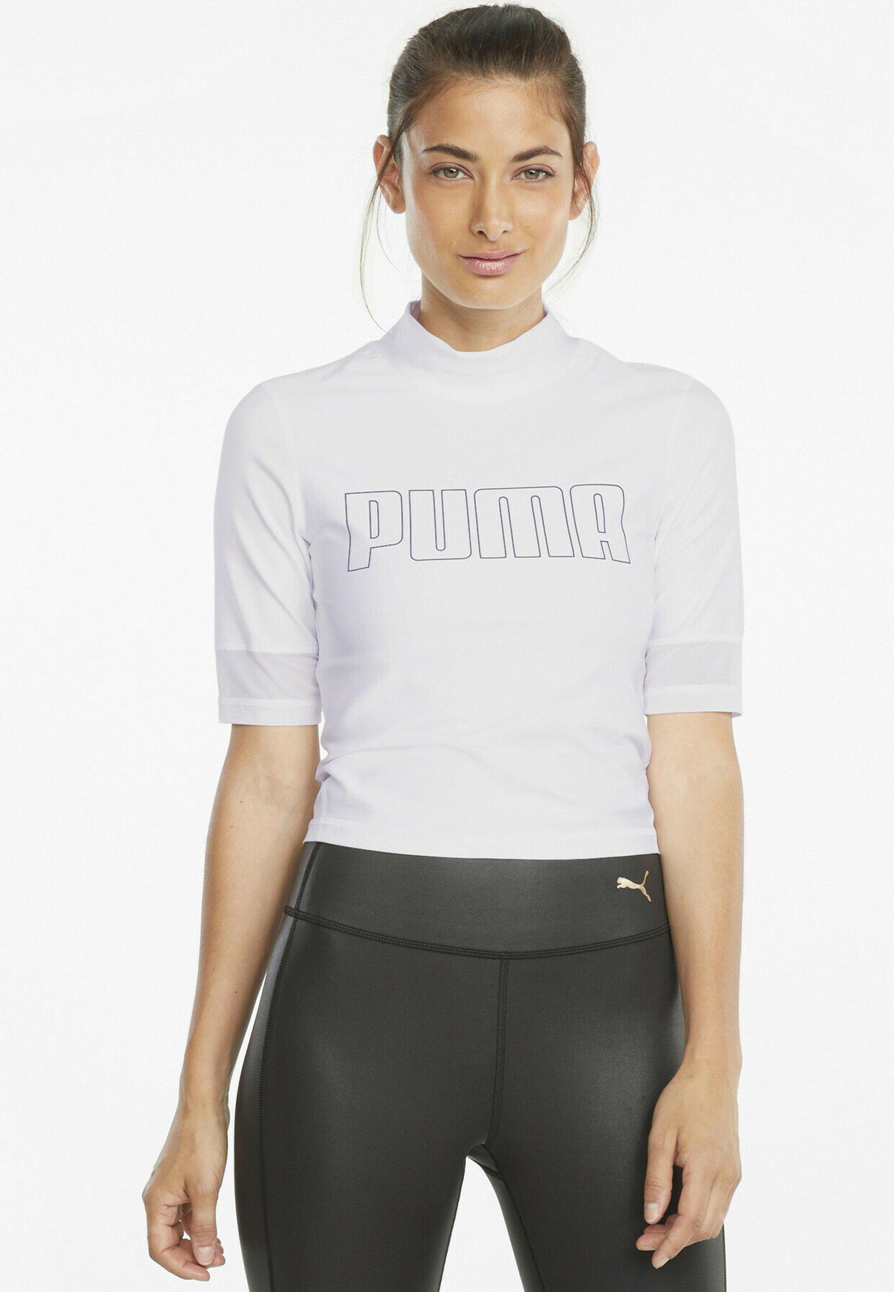 Femme TRAIN EVERSCULPT MOCK NECK - T-shirt imprimé