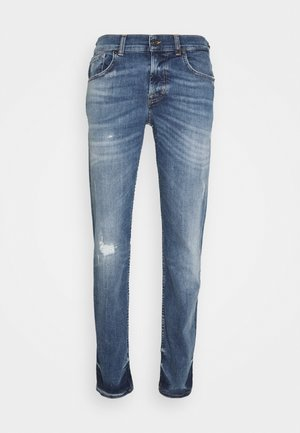 PHOENIX - Slim fit jeans - mid blue