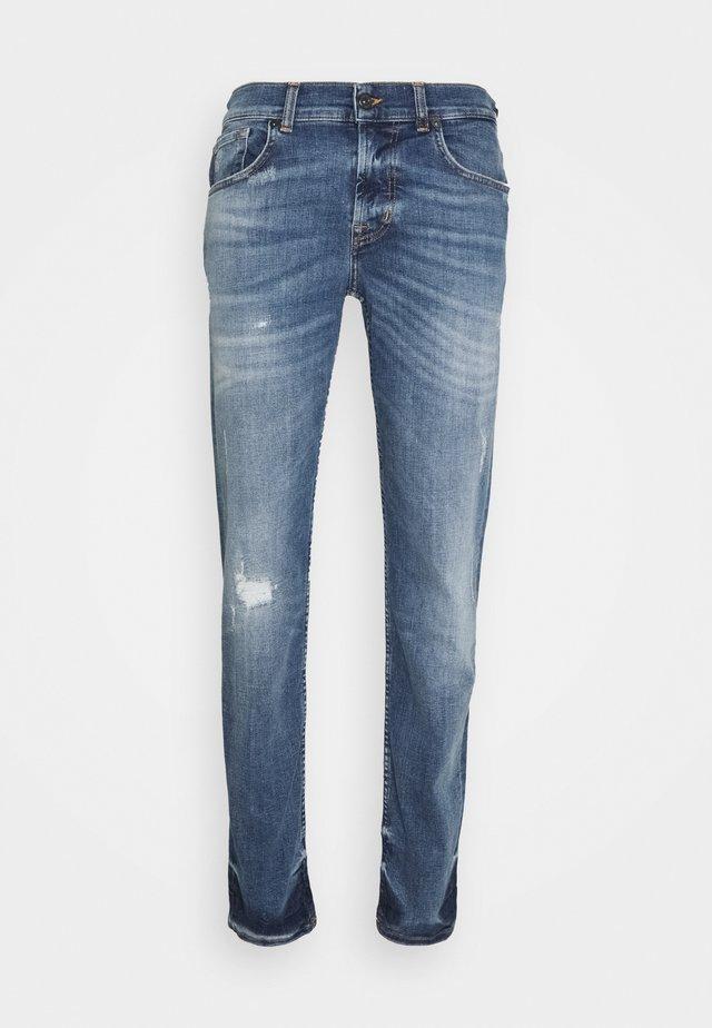 PHOENIX - Jeans slim fit - mid blue