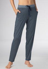 Mey - HOMEWEAR HOSE SERIE NIGHT2DAY - Pyjama bottoms - night blue - 0