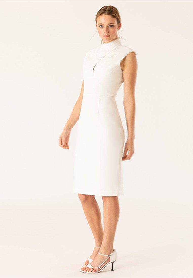 IVY & OAK BRIDAL - Shift dress - snow white