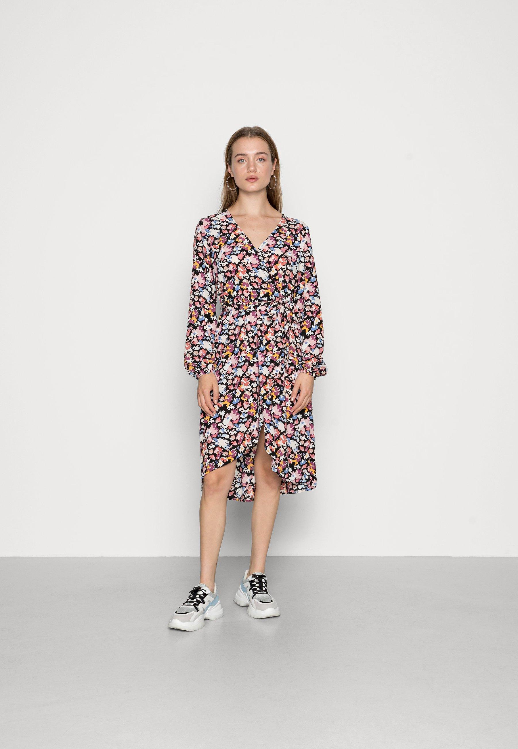 Femme JDYROXANNE WRAP DRESS - Robe d'été