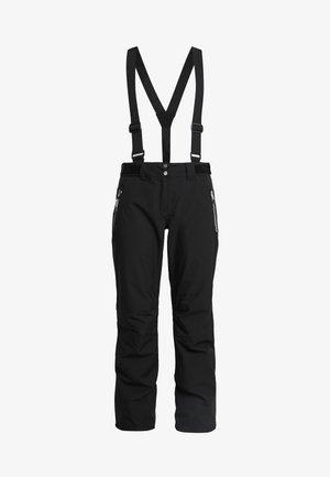 EFFUSED PANT - Zimní kalhoty - black