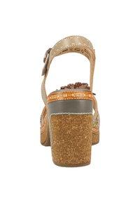 LAURA VITA - High heeled sandals - grey - 3