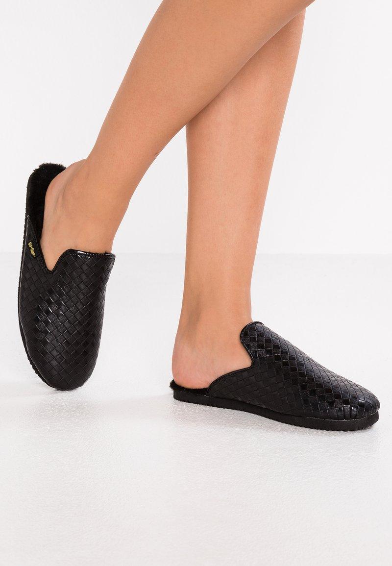 flip*flop - SLIPPER BRAIDED - Slippers - black