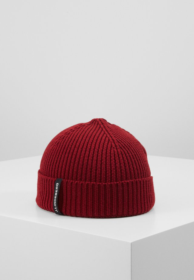 JUAN BEANIE - Beanie - chilli red