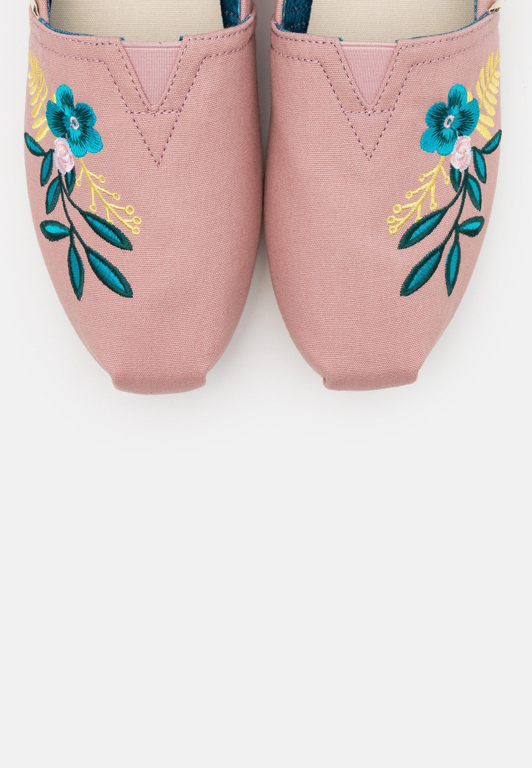 Scarpe da donna TOMS ALPARGATA Scarpe senza lacci pink