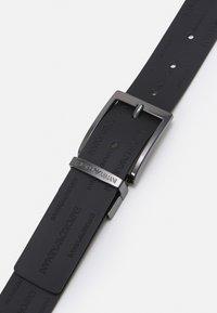 Emporio Armani - FASHION BELT - Belt - dark brown - 3