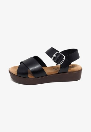 CIRA  - Sandalias con plataforma - black