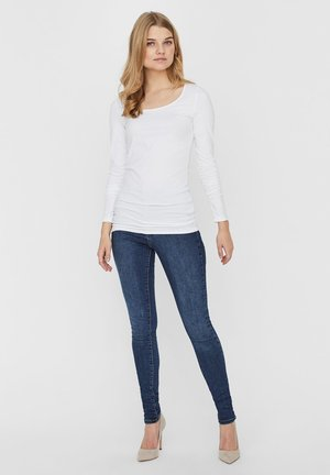 2PACK - Long sleeved top - bright white