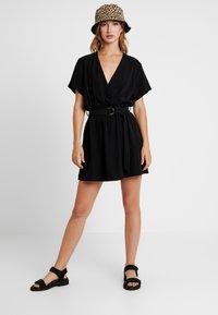 Weekday - JESS DRESS - Denní šaty - black - 2
