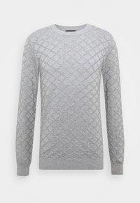Selected Homme - DIAMOND  - Jumper - medium grey melange - 4