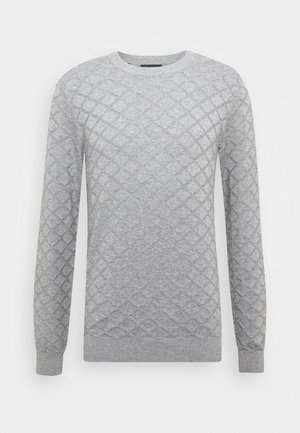 DIAMOND  - Pullover - medium grey melange