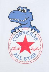 Converse - STAR JOGGER AND TEE SET UNISEX - Langarmshirt - white - 3