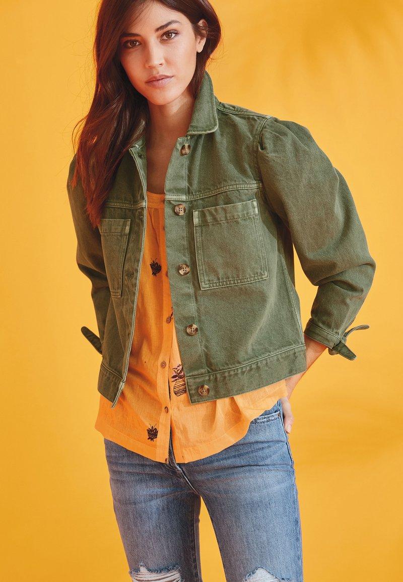 Next - Denim jacket - khaki