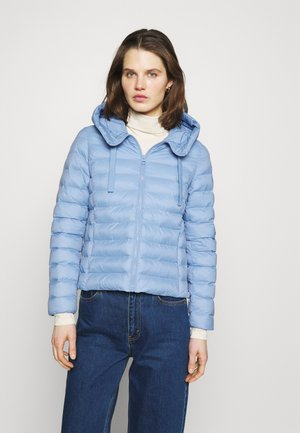 Light jacket - washed cornflower